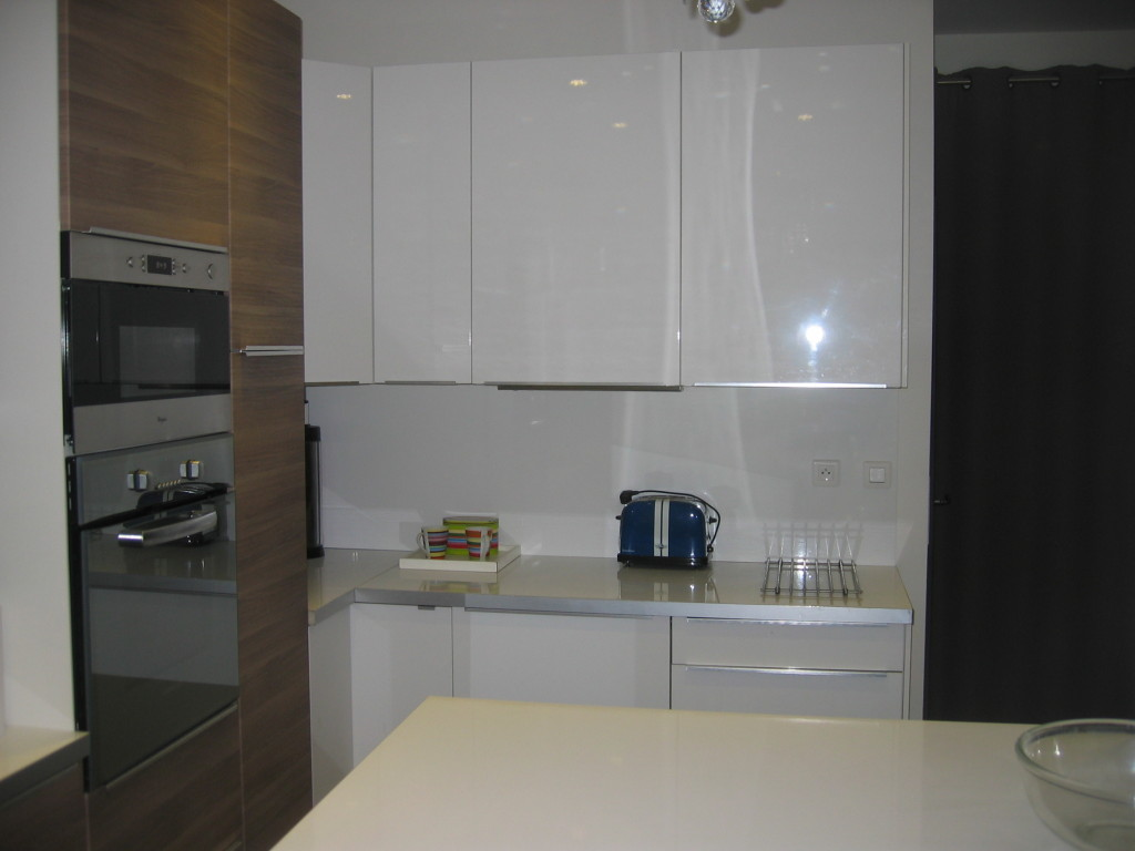 Installation meuble de cuisine