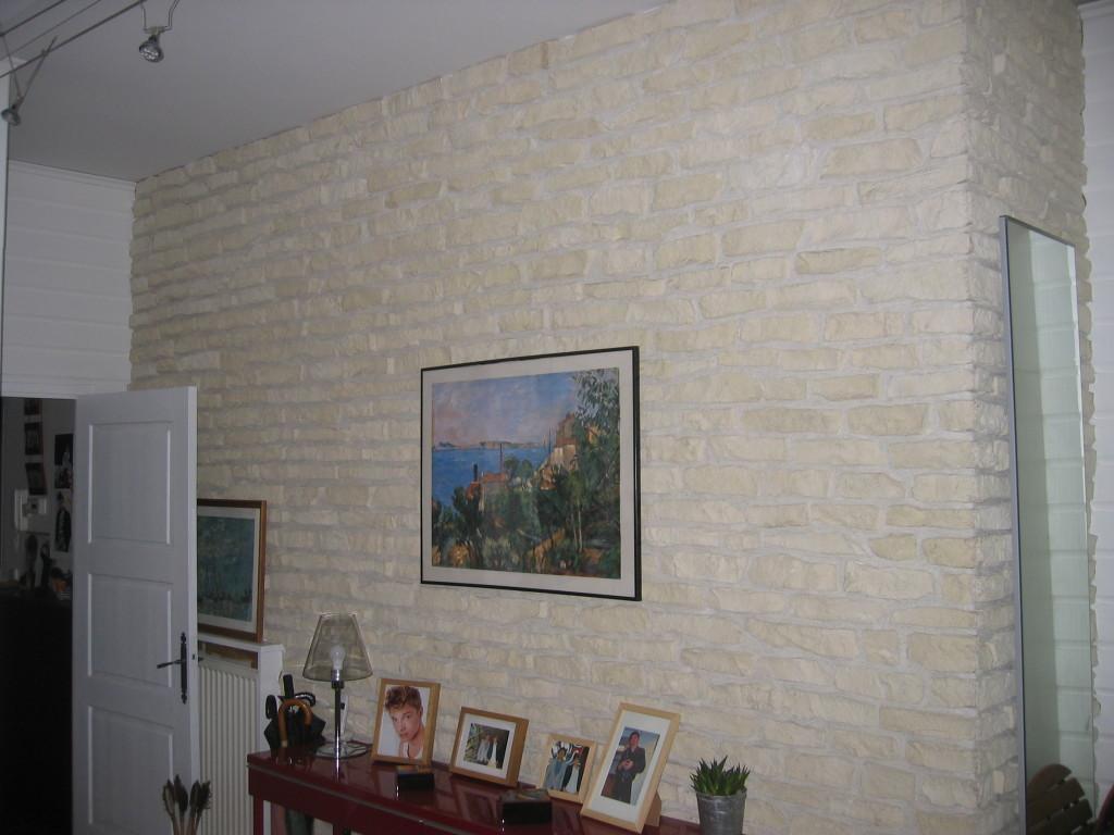 mur en brique de parrement